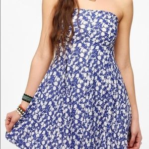 Urban Outfitters Cooperative Strapless Ska…